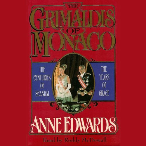 The Grimaldis of Monaco audiobook cover art