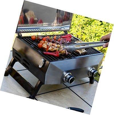 Generic DYHP-A10-CODE-6285-CLASS-1 - Grille de barbecue supérieure 48,3 cm - Table à gaz Q Gri 2 brûleurs 48,3 cm - Acier inoxydable 304 - NV_1001006285-HP10-UK