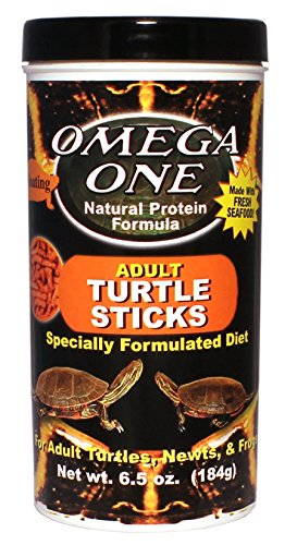 Omega One Adult Turtle Sticks, Floating, Floating Adult Turtle Sticks, 11 mm Sticks, 6.5 oz