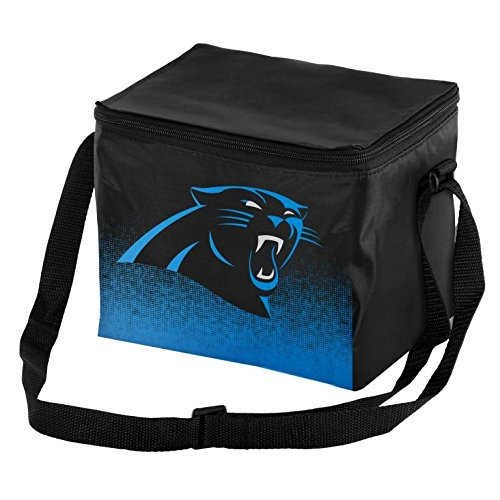FOCO NFL Unisex Gradient Print Lunch Bag Coolergradient Print Lunch Bag Cooler, Carolina Panthers, Standard
