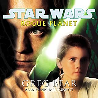 Star Wars: Rogue Planet audiobook cover art