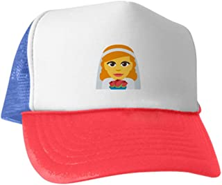 Bride with Veil Emoji Baseball Cap
