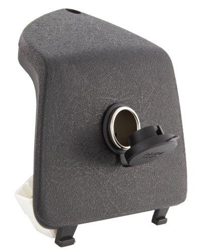 SIP Style Equipaje Compartimento Apertura Izquierda, Vespa GTS/GTS Super GT/GTV/60/GT/GT L 125–300CCM Negro, Incluye 12V Encendedor de Cigarrillos de/Norma Enchufe
