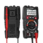 KAIWEETS 4000 Counts TRMS Auto-Ranging Digital Multimeter/Ohmmeter/Voltmeter Diode 1.5v/9v Real-Time Accurate Battery Voltage Tester with NCV Function