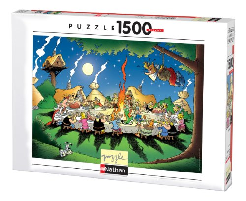 Nathan – 87737 – Classic – Puzzle – 1500 Teile – Bankett Asterix