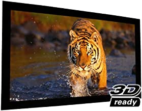 "EluneVision Reference AudioWeave 4K Fixed Frame Screen - Audio-Transparent Material - 135"" (118"" x 66"") Viewable - 16:9"