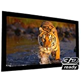 EluneVision Reference AudioWeave 4K Fixed Frame Screen - Audio-Transparent Material - 135' (118' x 66') Viewable - 16:9