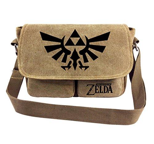 YOYOSHome Japanese Anime Cartoon Cosplay Tote Bag Handbag Cross-body Bag Messenger Bag Shoulder Bag (The Legend of Zelda 1)