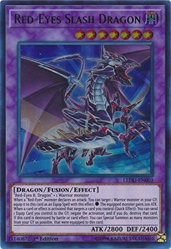 Red-Eyes Slash Dragon - LEDU-EN003 - Ultra Rare - 1st Edition - Legendary Duelists (1st Edition)