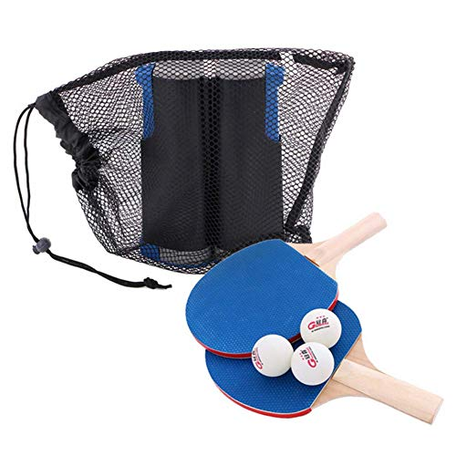 Purchase VictorySport Ping Pong Paddle Set, Professional Retractable Table Tennis Set 3 Balls, 2 Bat...