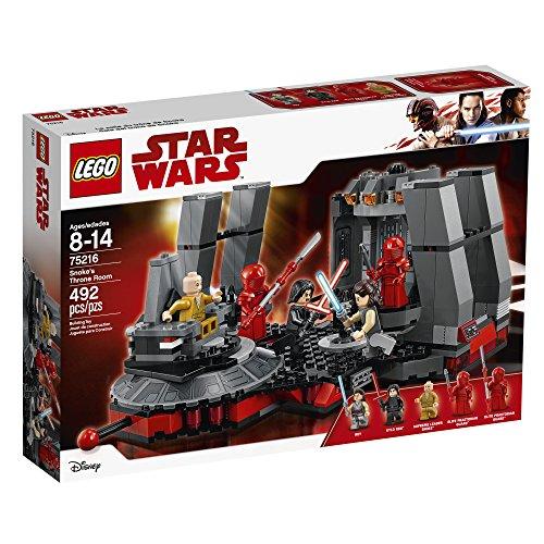 La Salle du Trône de Snoke LEGO Star Wars 75216 - 492 Pièces - 2