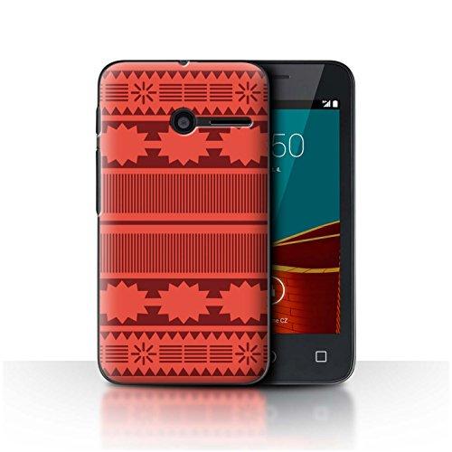 Stuff4 Hülle/Case für Vodafone Smart First 6 / Aztek/Prinzessin Kleid Muster/Karikatur Polynesische Prinzessin Kollektion