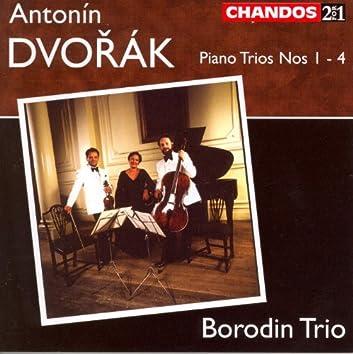 DVORAK: Piano Trios Nos. 1-4