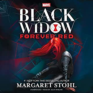 Marvel's Black Widow: Forever Red audiobook cover art