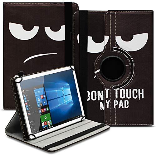 Tablet Hülle kompatibel für Xido Z120 Z110 X111 X110 Tasche Schutzhülle Hülle Cover aus Kunstleder Standfunktion 360° Drehbar, Farben:Motiv 4
