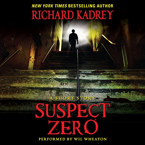 Suspect Zero audiobook cover art