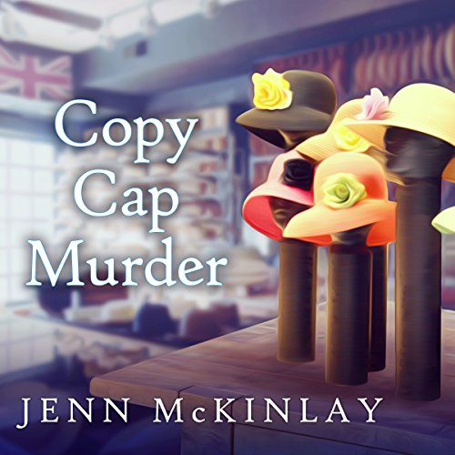 Copy Cap Murder audiobook cover art