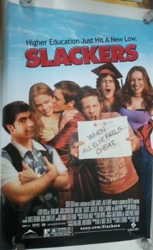 SLACKERS Movie - Laura PREPON Jaime King poster. The poster is not sold by SLACKERS Movie