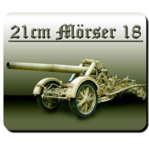 21cm Mörser 18 Waffe Kanone Militär Army Mauspad #5353