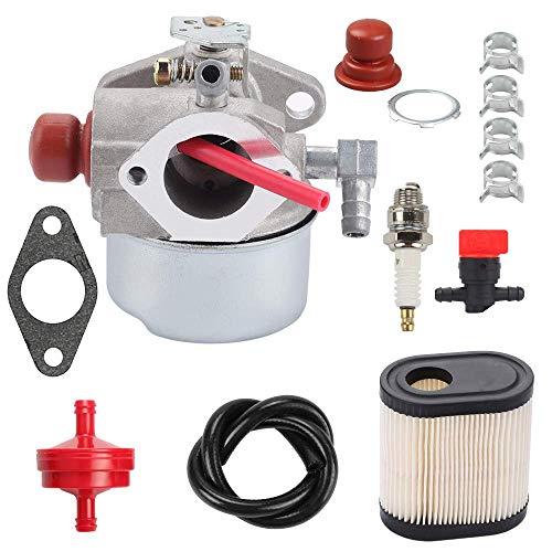 Highmoor 640350 LV195EA Carburetor Replacement for Tecumseh 640303 640278 640271 640338 LEV100 LEV105 LEV120 LV195XA Engine Lawn Mower Carb