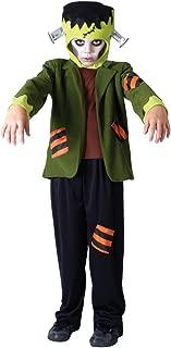 Bristol Novelty CC767 Monster Frank Costume, Black, Small, 110 - 122 cm, Approx Age 3 -5 Years, Monster Frank Costume (S)