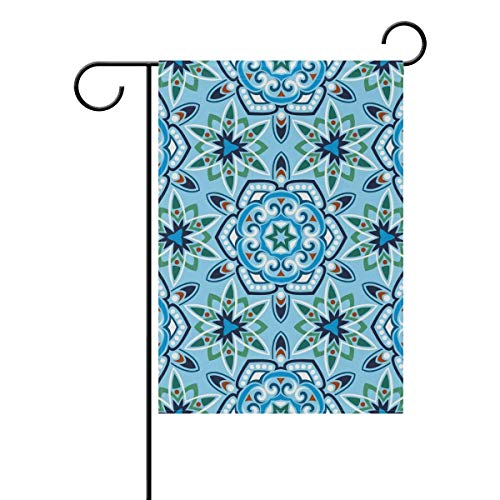 HUDOC Seasonal Garden Flags Personalized Colorful Design, Garden Seasonal Holiday Outdoor, Yard Signs Durable for Outdoors Patio 12.5 X 18 Inch