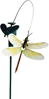 Solar Yard Stake Fluttering Insects, Solar or Battery Powered (Dragonfly)