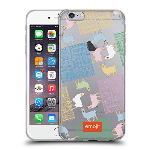 Head Case Designs Licenciado Oficialmente Emoji Tribal Llamas Carcasa de Gel de Silicona Compatible con Apple iPhone 6 Plus/iPhone 6s Plus