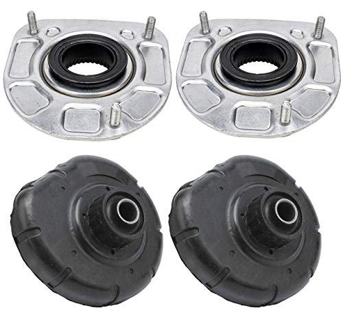 Bapmic Front Strut Mount & Spring Seat Bushing Kit Compatible with Volvo S60 S80 V70 XC70 XC90 30714968
