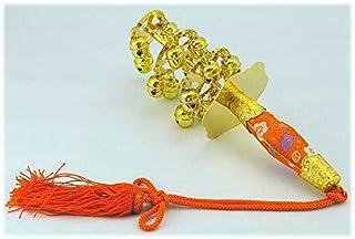 三番叟鈴(さんばそうすず)上 踊り用小道具 巫女鈴