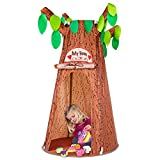 Kids Play Tents, Forest Hollow Tree House for Girls and Boys, Indoor Pretend Play Game Props, Easy Assemble Pop Up Play Tent w/ Carrying Bag, Ideal for Children Ages 3 Years & Up