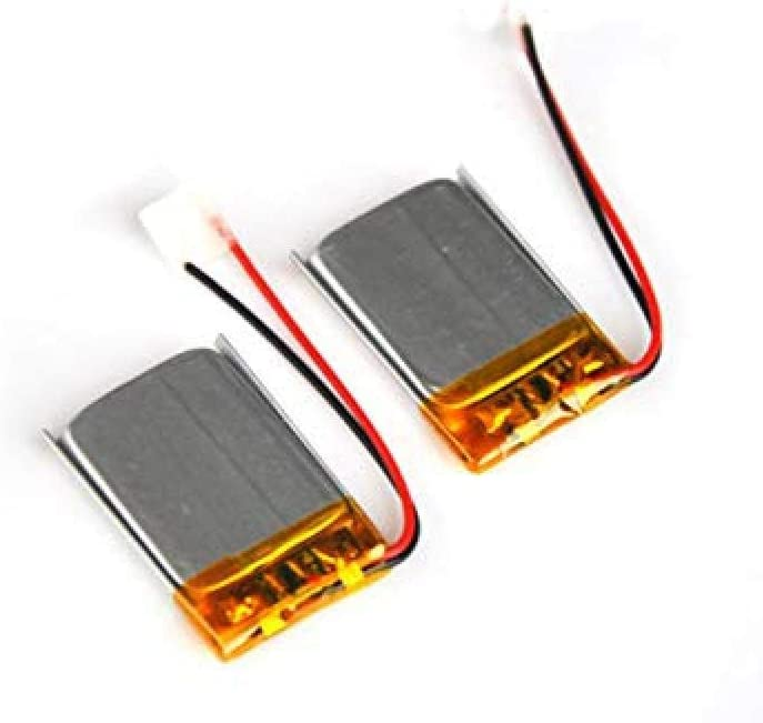 Compatible Pour 2PCS 3.7V Rechargeable Polymer Batte Max 82% OFF Lithium ION Outstanding