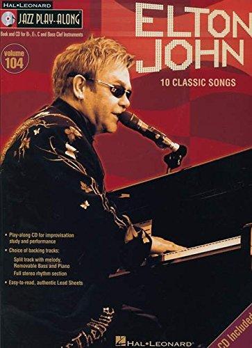 Jazz Play-Along Vol.104 Elton John Classics + Cd