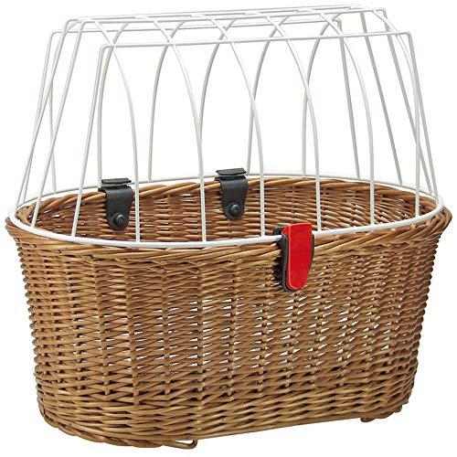 KlickFix HundeshopperDoggy Basket 45x52x36cm m. Korbklip braun + SCHLAUCHFLICKEN