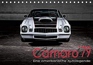 Chevrolet Camaro ´79 (Tischkalender 2021 DIN A5 quer): Chevrolet Camaro ´79 (Monatskalender, 14 Seiten )