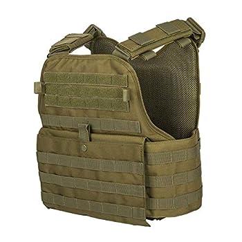 GFIRE Tactical Vest Modular Vest Breathable Combat Training Vest Adjustable Lightweight  Green1