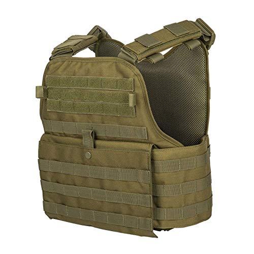 GFIRE Tactical Vest Modular Vest Breathable Combat Training Vest Adjustable Lightweight (Green1)