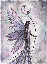 Captive Moon Fairy Fine Art Print by Molly Harrison Fantasy Art