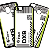 Fundas De Moviles Carcasas De Moviles Funda Carcasa Modelo Billete de Avion Primera Clase Dubai Compatible con Xiaomi Mi 9 Lite