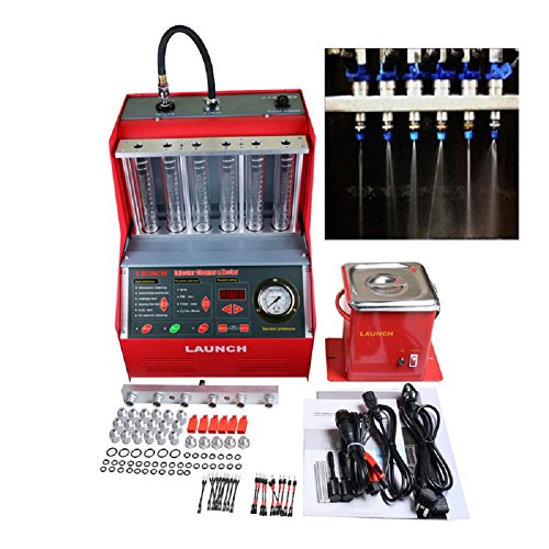 Autool Launch CNC602A Injector Cleaner and Tester with 110V Transformer