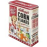 Nostalgic-Art Kellogg's - Tarro de Almacenamiento Retro XL – Calidad Cereal – Idea de Regalo nostálgico – Caja de Almacenamiento para Cereales – Diseño Vintage – 4 litros
