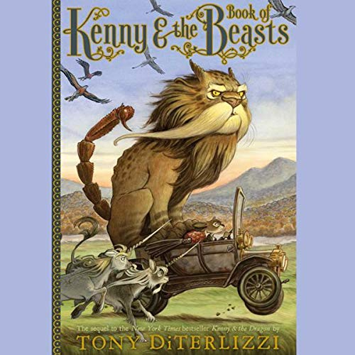 Kenny & the Book of Beasts audiobook cover art