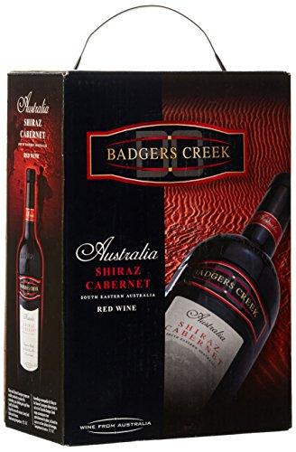 Dineart Badgers creek, Shiraz Australischer Rotwein Bag in Box Syrah Trocken (1 x 3 l)