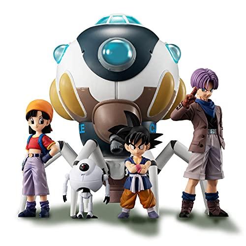 Ylmnku 5 Piezas Black Star Dragon Ball Z GT HG Gashapon Goku Figuras De Acción Muñecas Coleccionables Modelo De Mano Juguetes Regalos 5 ~ 15Cm