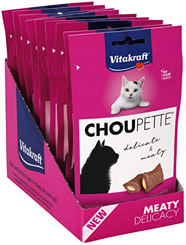 Vitakraft Katzensnack Choupette Käse, 9x40 g