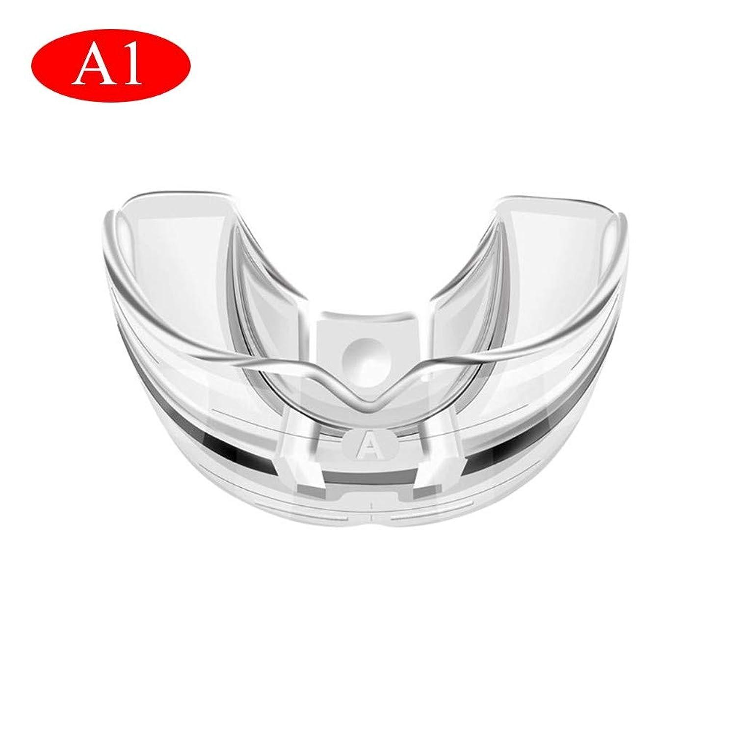 車両リスナー無人歯列矯正器具、歯の状態に応じた3段階/透明で柔らかい、そして硬い歯科用マウスガード歯列矯正器具(透明)