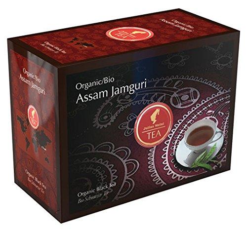 Julius Meinl BIO Assam Jamguri Big Bag (1 Teebeutel für ca. 1 lt. Wasser), Bio Schwarzer Tee - 20Beutel - 2x