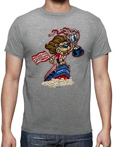 Camiseta Leon y Gabarra para Hombre
