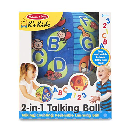 Melissa & Doug K's Kids 2-in-1 Talking Ball Educational Toy Now $9 (Was $16.99)