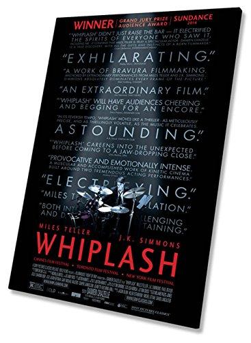 Whiplash Film Movie Poster Auf Leinwand, gerahmt Print 50,8x 76,2cm